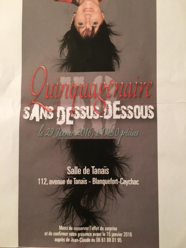 Salle de Tanaïs Blanquefort - Anniversaire - 29/01/2016