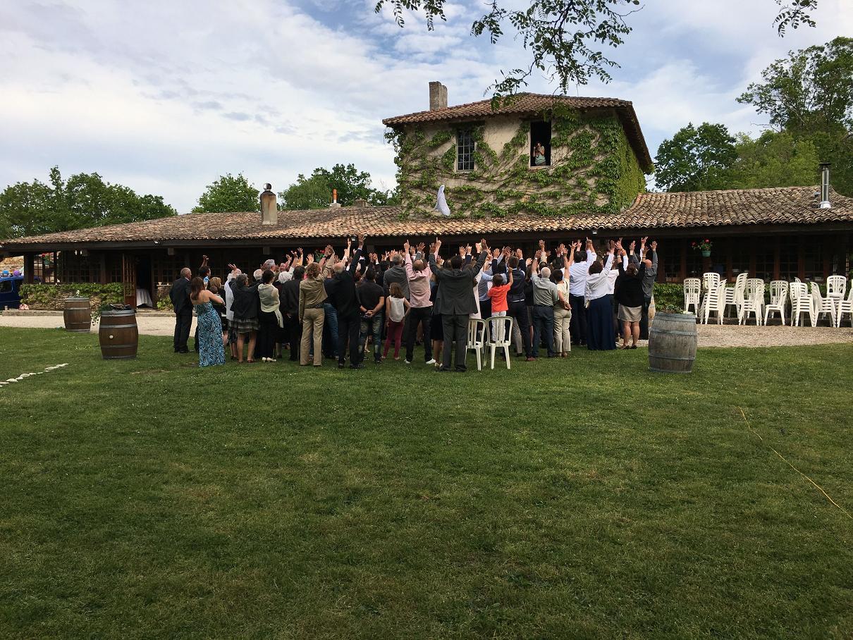 Domaine du Vautrait à Cabanac-et-Villagrains - Mariage - 06/05/2016