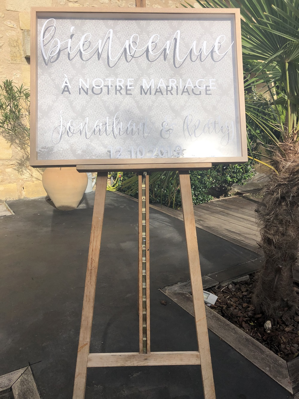 LA CUEVA 33420 GENISSAC - MARIAGE LE 12/10/2019